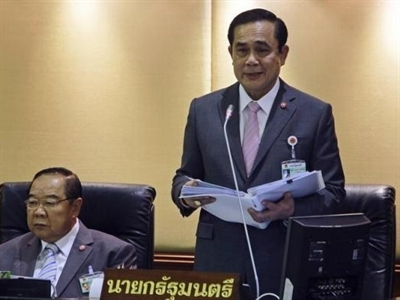 Thái Lan hoãn bầu cử đến năm 2016