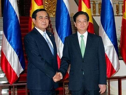 Hội đàm hai Thủ tướng Việt Nam, Thái Lan
