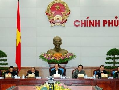 Chính phủ họp phiên thường kỳ tháng 11/2014
