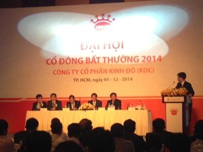 Kinh Đô đã thông qua mua 30% cổ phiếu quỹ