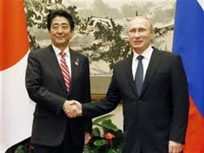 Thủ tướng Nhật Bản muốn ký Hiệp ước hòa bình với Nga