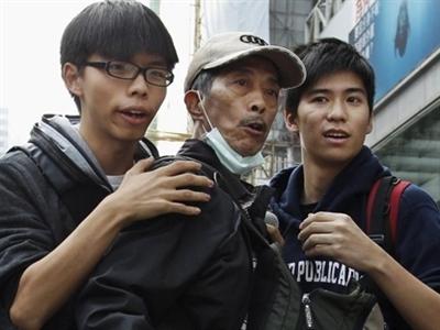 Thủ lĩnh biểu tình ở Hong Kong tuyên bố tuyệt thực
