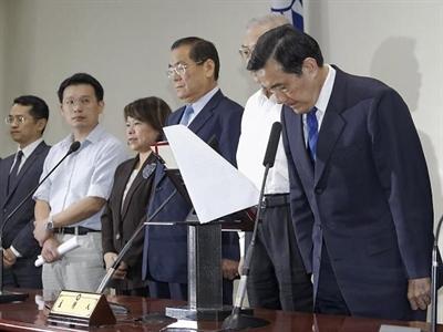 Nhà lãnh đạo Đài Loan từ chức người đứng đầu đảng cầm quyền