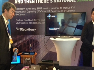BlackBerry tham dự Diễn đàn Ngân hàng Đông Nam Á 2014