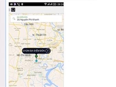 Ứng dụng Uber đã dừng hoạt động tại TP.HCM?
