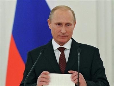 Tổng thống Nga Putin sắp đọc thông điệp liên bang