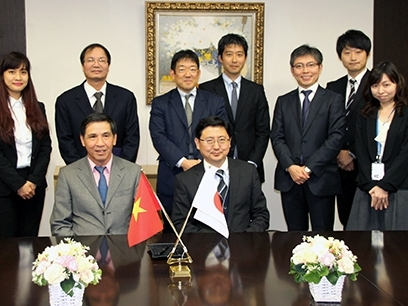 Bộ Tài chính ký biên bản hợp tác với cấp bảo hiểm tín dụng Nhật Bản