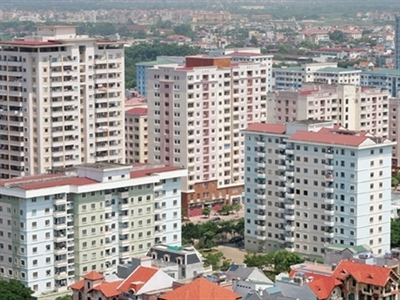 Hà Nội dự kiến dành hơn 2040 ha phát triển nhà ở thương mại giai đoạn 2016 - 2020