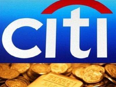Citi dự báo giá vàng trung bình năm 2015 đạt 1.220 USD/ounce