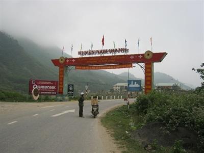 Bổ sung Khu dân cư vào Quy hoạch Khu kinh tế cửa khẩu Nam Giang