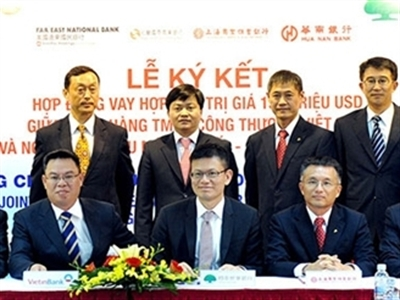 VietinBank ký hợp đồng vay hợp vốn 139 triệu USD