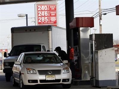 Giá xăng tại Mỹ thấp nhất 4 năm