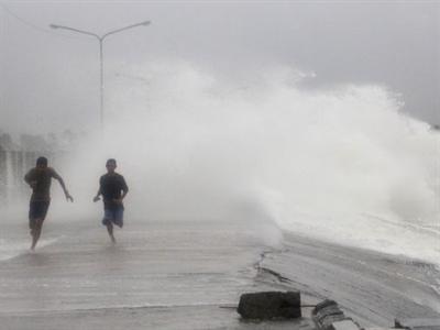 Chùm ảnh siêu bão Hagupit tàn phá Philippines