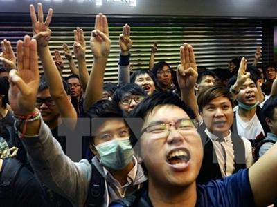 Hong Kong có khả năng giải tán biểu tình vào ngày 10/12