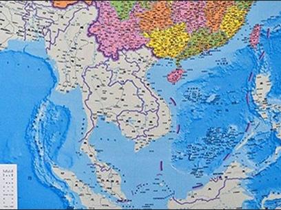 """Mỹ phản bác yêu sách """"đường lưỡi bò"""" của Trung Quốc trên biển Đông"""