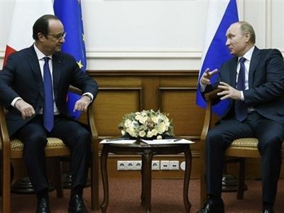 Putin chính thức lên tiếng về vụ Pháp không giao tàu chiến