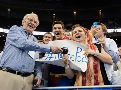 Tỷ phú Warren Buffett làm từ thiện nhiều nhất thế giới