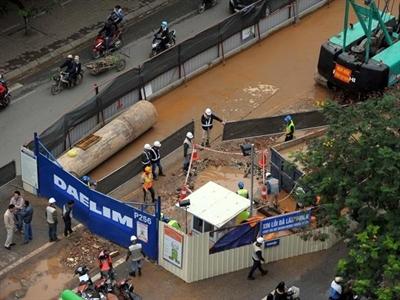 2.440 tỷ đồng cho mỗi km tuyến metro Nhổn - ga Hà Nội