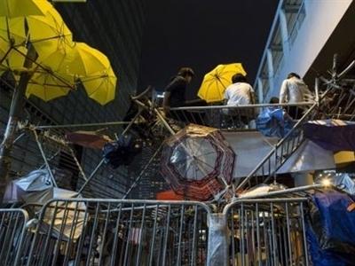 Hồng Kông mạnh tay giải tỏa biểu tình