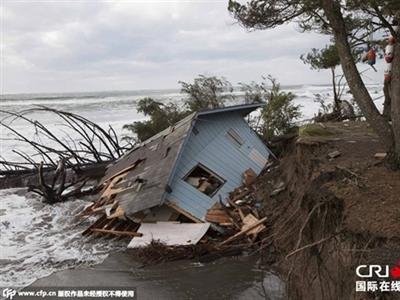 Siêu bão mạnh nhất 5 năm tấn công nước Mỹ