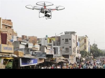 Ấn Độ triển khai máy bay không người lái ở thủ đô để bảo vệ phụ nữ
