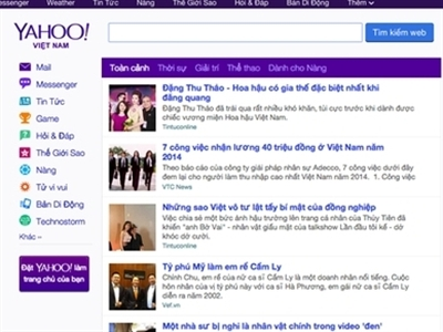 Yahoo đóng cửa văn phòng ở Việt Nam