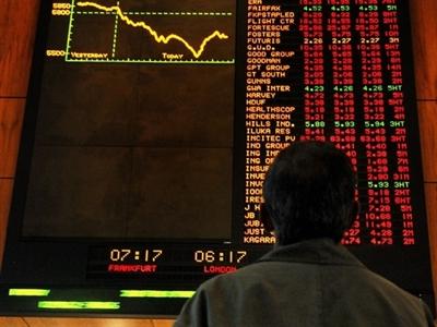 Chứng khoán châu Á giảm do lo ngại về tăng trưởng toàn cầu