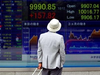 MSCI châu Á Thái Bình Dương xuống thấp nhất 8 tuần