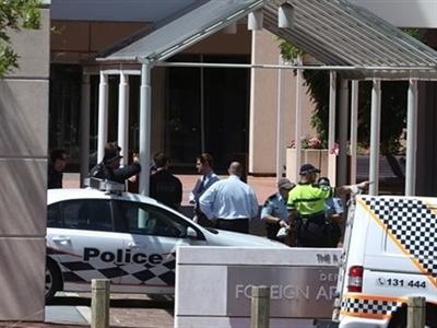 Đe dọa đánh bom ở Bộ Ngoại giao Australia