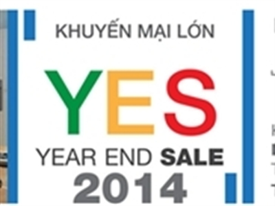 Khuyến mại hấp dẫn nhất trong năm Yes! Year End Sale