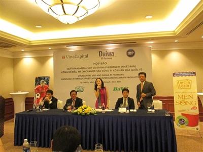VinaCapital và Daiwa PI Partners đầu tư 45 triệu USD vào Sữa Ba Vì