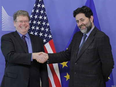 EU hy vọng sẽ đạt hoàn tất TTIP với Mỹ vào cuối năm 2015