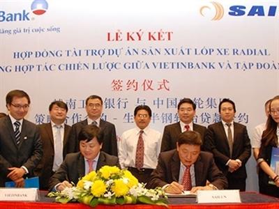 VietinBank chi 64 triệu USD cho dự án sản xuất lốp xe Radial