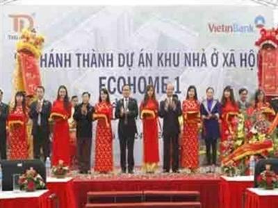 Hà Nội khánh thành hơn 900 căn nhà thu nhập thấp