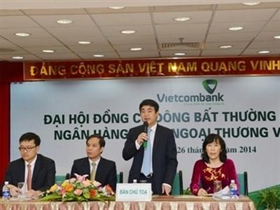 Vietcombank thông qua chủ trương sáp nhập một ngân hàng khác