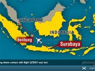 Vụ máy bay AirAsia mất tích: Công bố kế hoạch tìm kiếm chi tiết