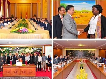 Năm 2015, Bộ Tài chính dự kiến sẽ ký kết 22 Điều ước và Thông tư quốc tế