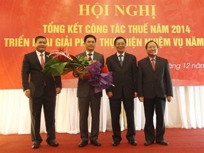 Cục Thuế Hà Nội có Cục trưởng mới