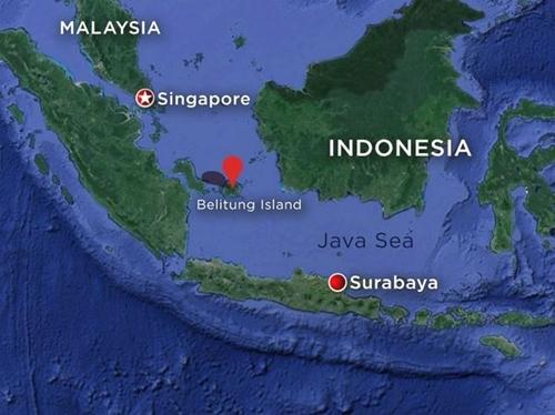 Singapore dùng thiết bị nghe dưới nước tìm hộp đen QZ8501