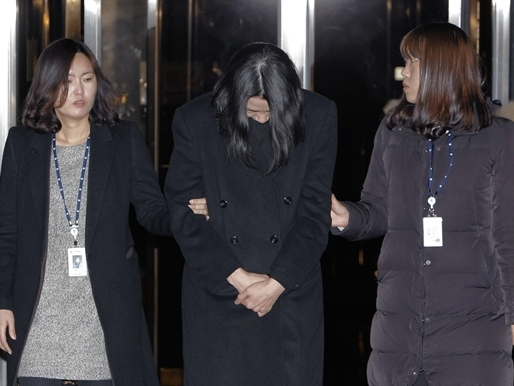 Sếp nữ của Korea Air bị bắt