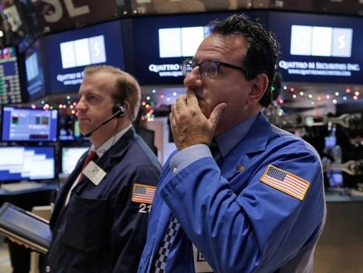 Chứng khoán Mỹ lao dốc cùng giá dầu