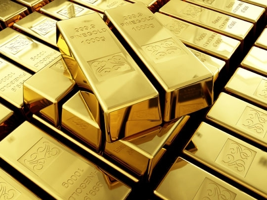 Giá vàng cao nhất 3 tuần khi nhu cầu tài sản trú ẩn an toàn tăng