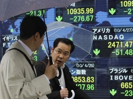 Chứng khoán châu Á tăng mạnh nhất 3 tuần