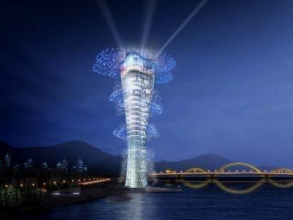 """Dừng dự án """"ngọn hải đăng"""" trên sông Hàn"""