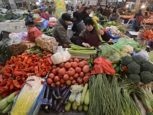 Lạm phát Trung Quốc tăng nhẹ trong tháng 12/2014