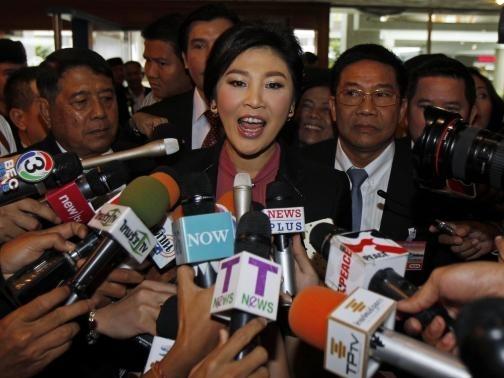 Thái Lan bắt đầu luận tội cựu Thủ tướng Yingluck