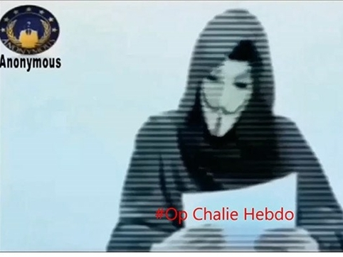 Nhóm Anonymous tuyên chiến với lực lượng thánh chiến Hồi giáo