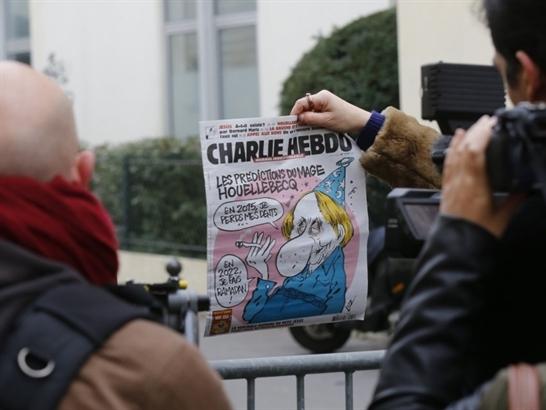 Charlie Hebdo phát hành 3 triệu ấn bản có in hình nhà tiên tri Mohammed