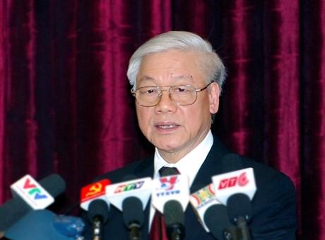Tổng Bí thư Nguyễn Phú Trọng: Đổi mới chính trị không phải là làm thay đổi chế độ chính trị