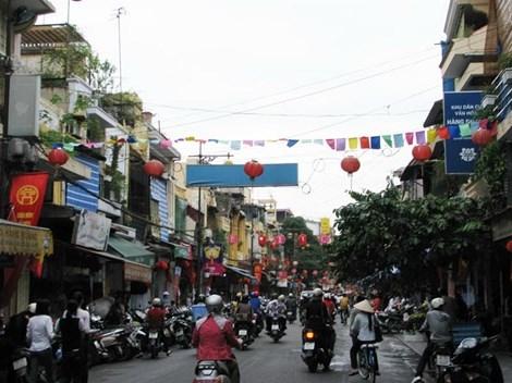 Sẽ di dời hơn 1.500 hộ dân phố cổ Hà Nội vào cuối năm 2017